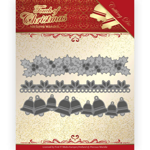 Precious Marieke - Die - Touch of Christmas - Christmas Borders - PM10186