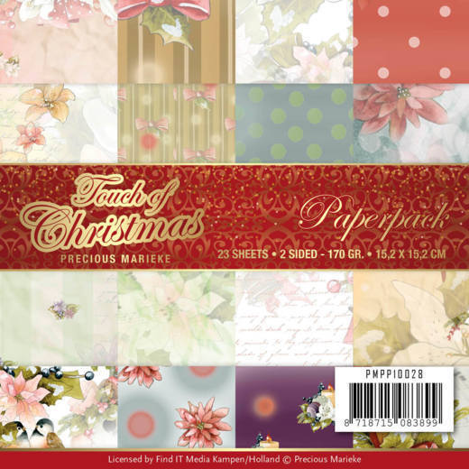 Precious Marieke - Paperpack - Touch of Christmas - PMPP10028
