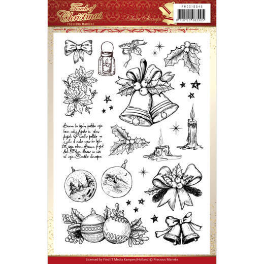 Precious Marieke - Clearstamp - Touch of Christmas - PMCS10045