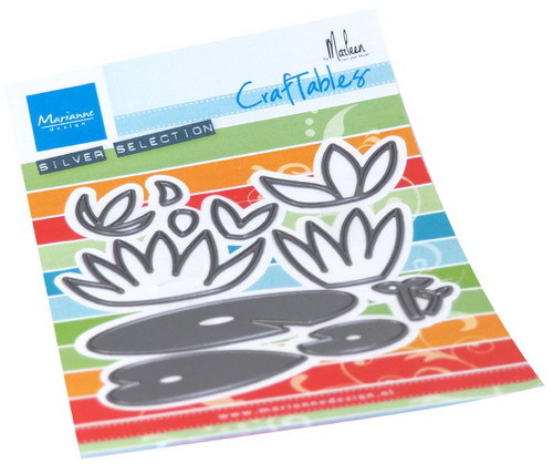 Marianne Design - Die - Craftables - Waterlilies - CR1515