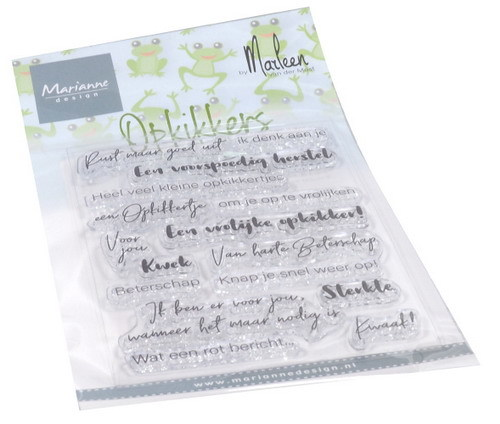 Marianne Design - Clearstamp - Opkikkers - CS1065
