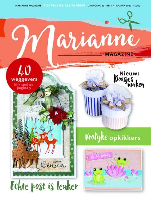 Marianne Design - Marianne Doe - Magazine No. 47 - DOE47