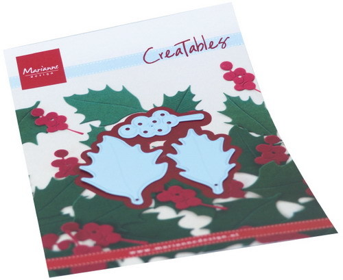 Marianne Design - Die - Creatables - Holly leaves - LR0675