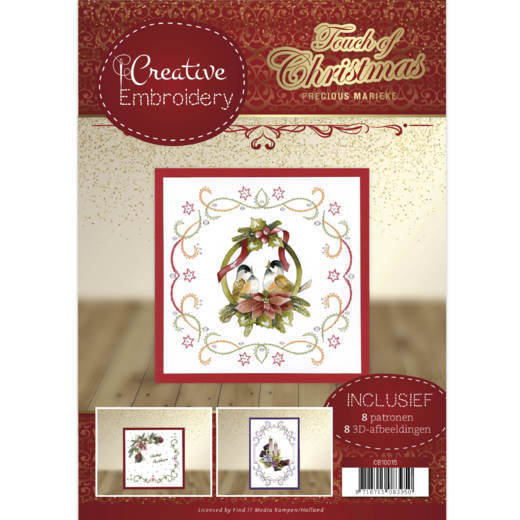 Precious Marieke - Creative Embroidery 15 - Touch of Christmas - CB10015