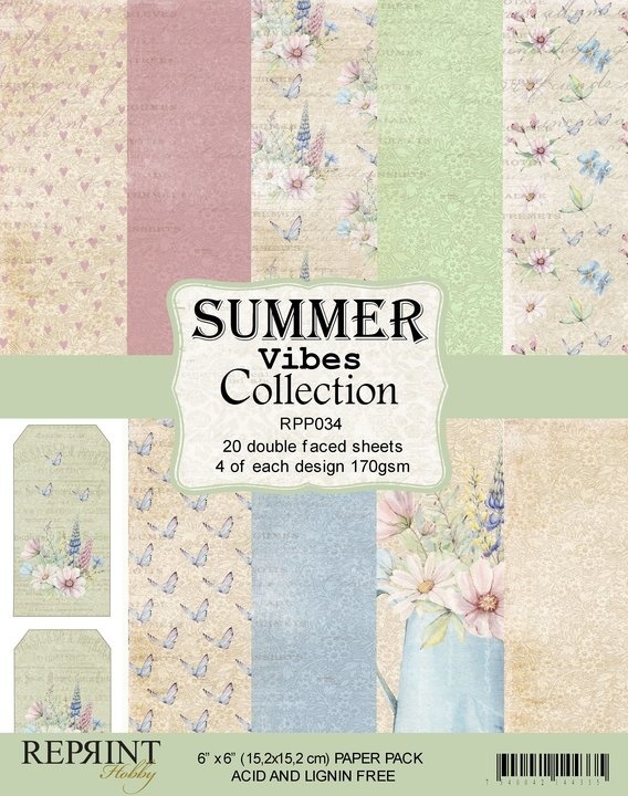 Reprint - Paperpack - Summer Vibes collection - RPP034