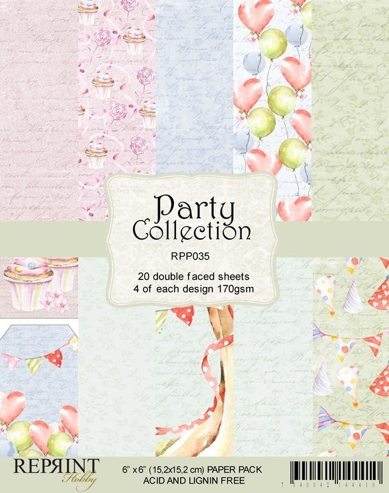 Reprint - Paperpack - Party collection - RPP035
