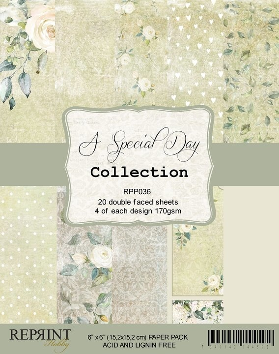 Reprint - Paperpack - A Special Day collection - RPP036
