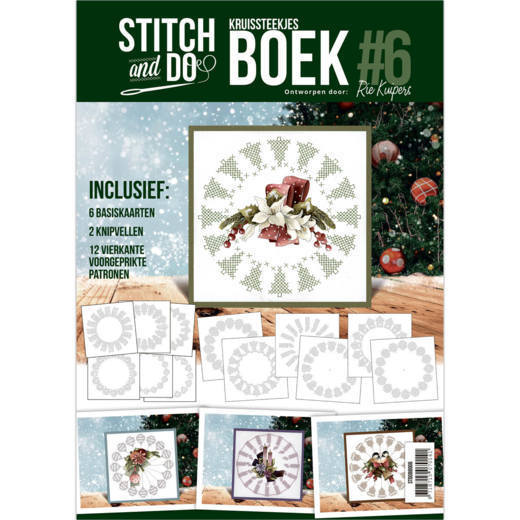 Card Deco - Stitch and Do - Boek No. 06 - STDOBB006