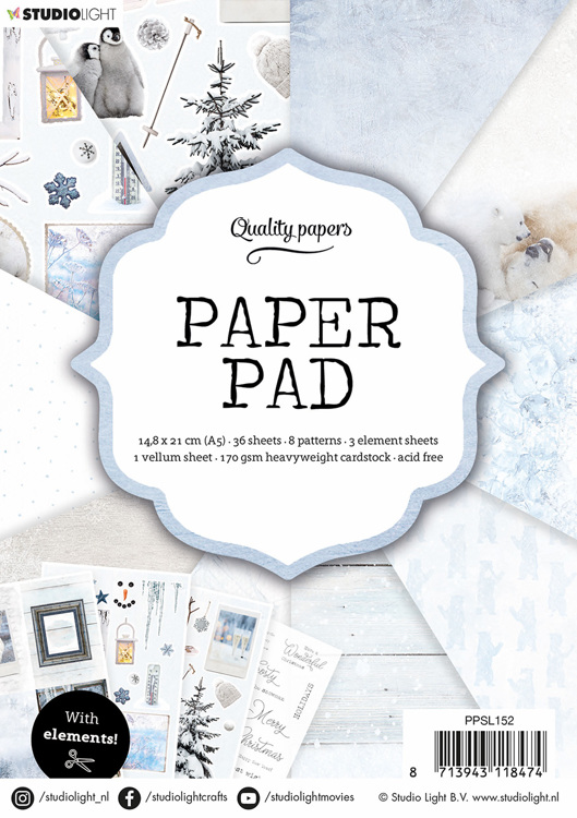 Studio Light - Paperpack - No. 152 - PPSL152