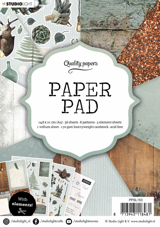 Studio Light - Paperpack - No. 153 - PPSL153