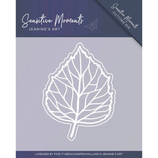 Jeanine`s Art - Die - Sensitive Moments - Leaf - JAD10100