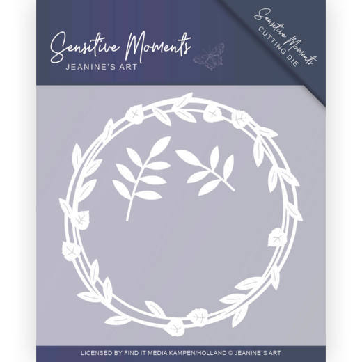 Jeanine`s Art - Die - Sensitive Moments - Leaf circle - JAD10097