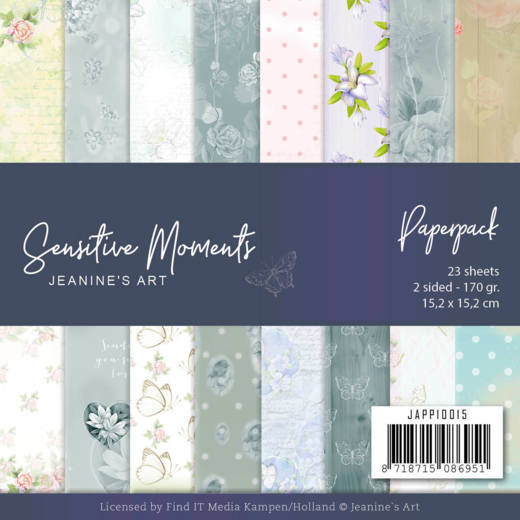 Jeanine`s Art - Paperpack - Sensitive Moments - JAPP10015