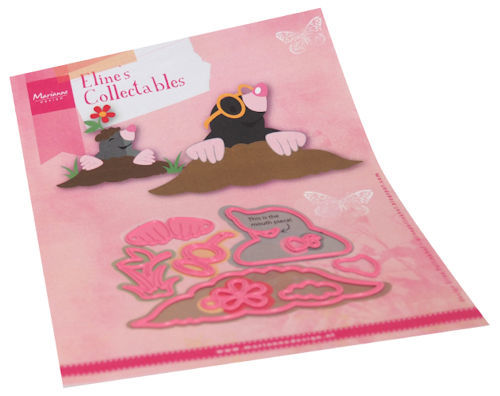 Marianne Design - Die - Collectables - Eline's mole - COL1488