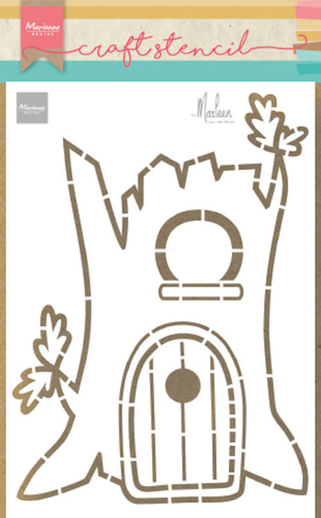 Marianne Design - Craft stencil - Treehouse - PS8073