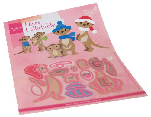 Marianne Design - Die - Collectables - Eline's Meercats - COL1490