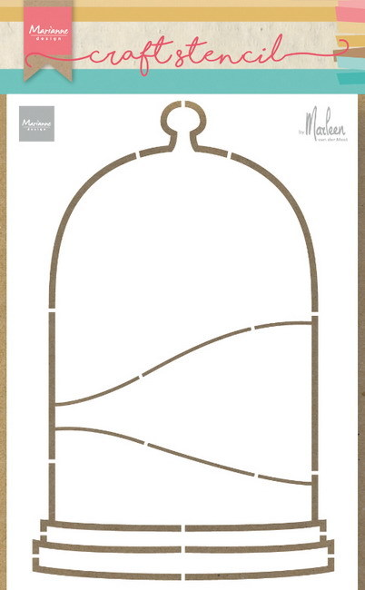 Marianne Design - Craft stencil - Bell jar - PS8074