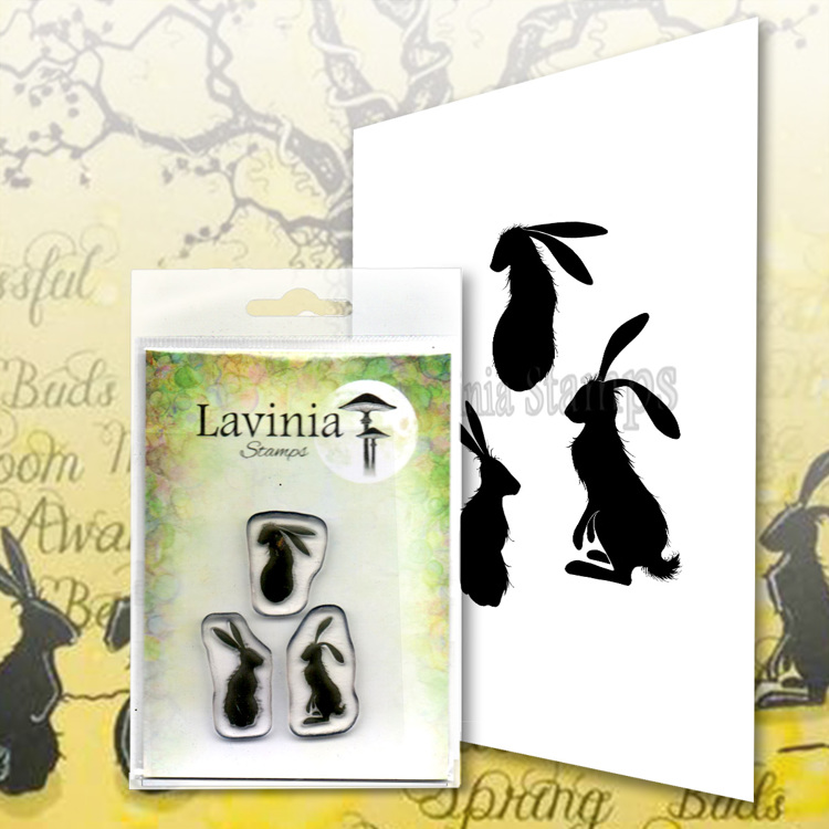 Lavinia Stamps - Clearstamp - Wild Hares Set Small - LAV614