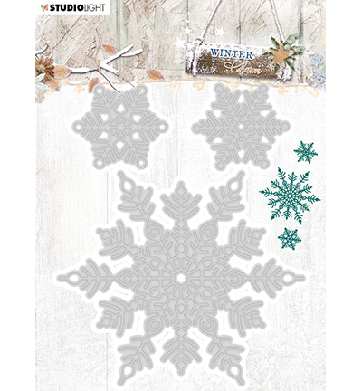 Studio Light - Die - Winter Charm - STENCILWC324