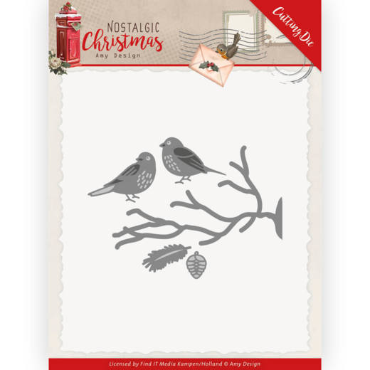Amy Design - Die - Nostalgic Christmas - Birds - ADD10225