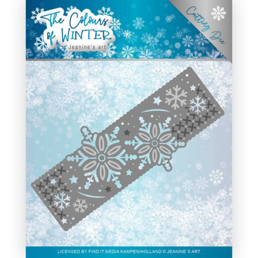 Jeanine`s Art - Die - The colour of winter - Winter Border - JAD10110