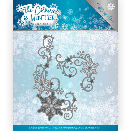 Jeanine`s Art - Die - The colour of winter - Winter Swirl - JAD10109