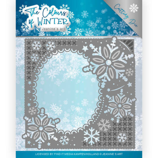 Jeanine`s Art - Die - The colour of winter - Winter Frame - JAD10108