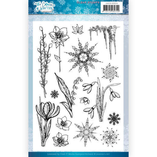 Jeanine`s Art - Clearstamp - The colours of winter - JACS10034