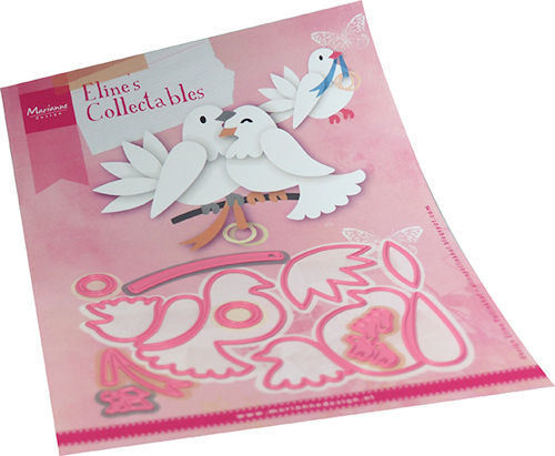 Marianne Design - Die - Collectables - Eline`s Pigeons - COL1492