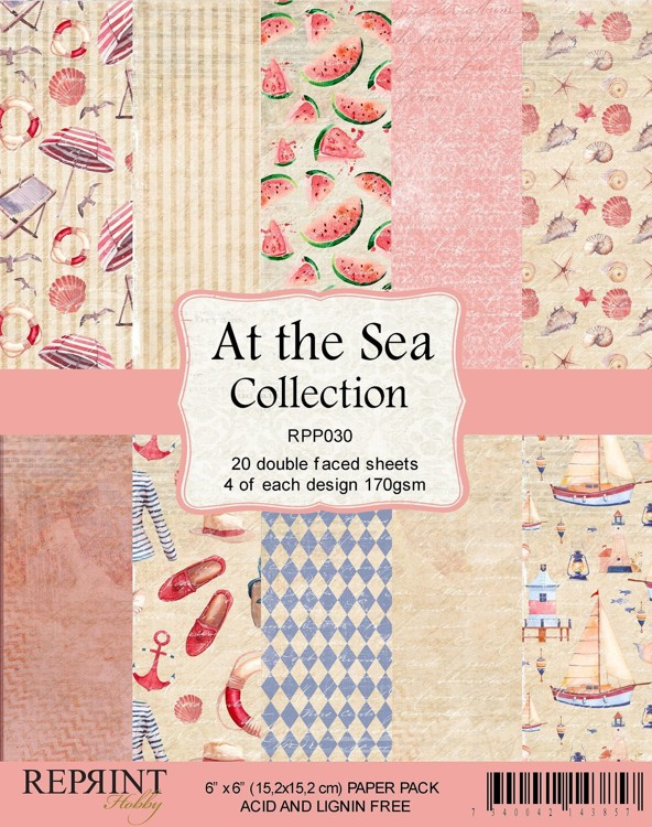 Reprint - Paperpack - At the sea - RPP030