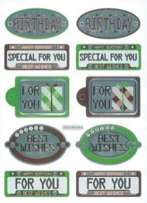Hobby & Crafting Fun - Stickers - 12105-0543