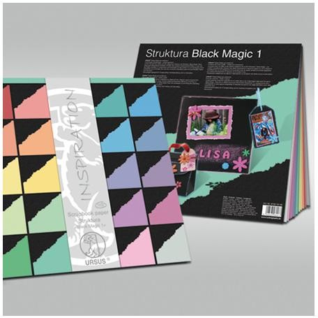 Ursus - Paperpack - Structura Black Magic 1 - 81820099