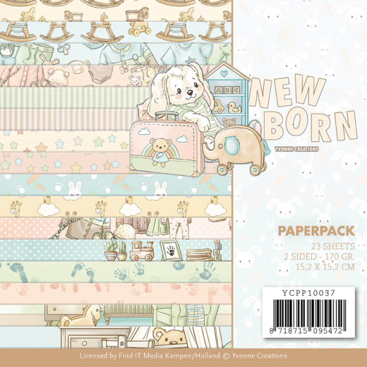 Yvonne Creations - Paperpack - Newborn - YCPP10037