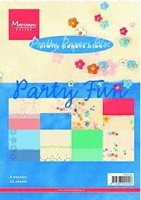 Marianne Design - Paperpack - Pretty Papers - Party Fun - PK9063