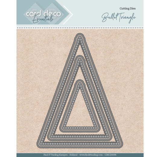 Card Deco - Die - Essentials - Nesting Dies - Bullet triangle - CDECD0096