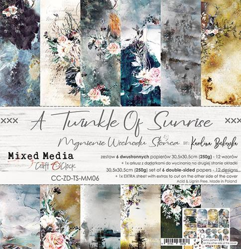 Craft O`Clock - Paperpack - 305 x 305mm - A Twinkle of Sunrise - CC-ZD-TS-MM06