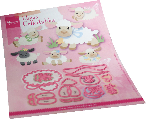 Marianne Design - Die - Collectables - Eline's Lamb - COL1494