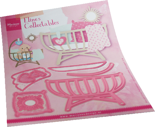 Marianne Design - Die - Collectables - Eline's Baby cot - COL1495
