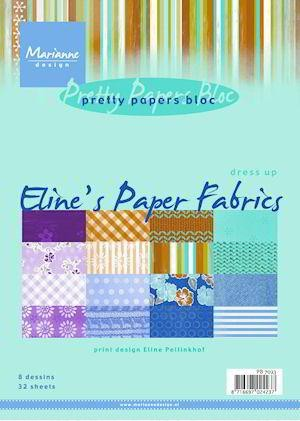 Marianne Design - Paperpack - Pretty Papers - Eline`s paper fabrics - PB7023