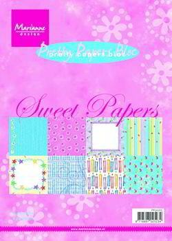 Marianne Design - Paperpack - Pretty Papers - Sweet papers - PK9065
