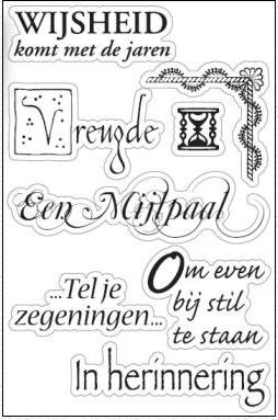 Marianne Design - Clearstamp - Wijsheid - CS0825
