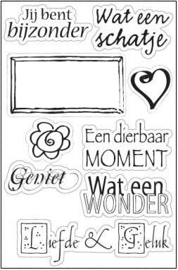 Marianne Design - Clearstamp - Moment - CS0826