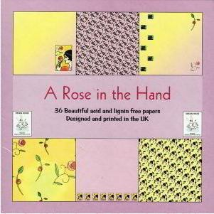 Design House - Paperpack - A rose in the hand - 1611