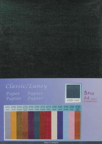 Hobby & Crafting Fun - Classic / Silky  Papier: Forest - 12047-4709