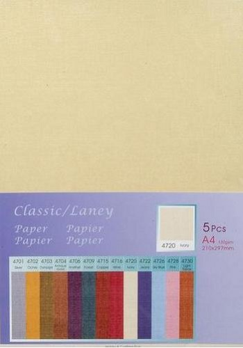 Hobby & Crafting Fun - Classic / Silky Papier: Ivory - 12047-4720