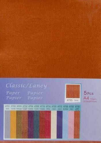 Hobby & Crafting Fun - Classic / Silky Papier: Light Topaz - 12047-4730
