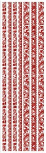 Joy! crafts - Sticky Ribbon - Velvet: rood - 6013/1113