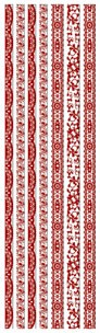 Joy! crafts - Sticky Ribbon - Velvet: rood - 6013/1117