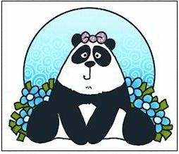 Marianne Design - Corrie Kuipers - Clearstamp - Panda - CO9608