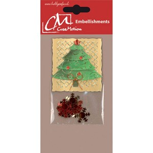 CreaMotion - Embellishment - Kerstboom - BST179899